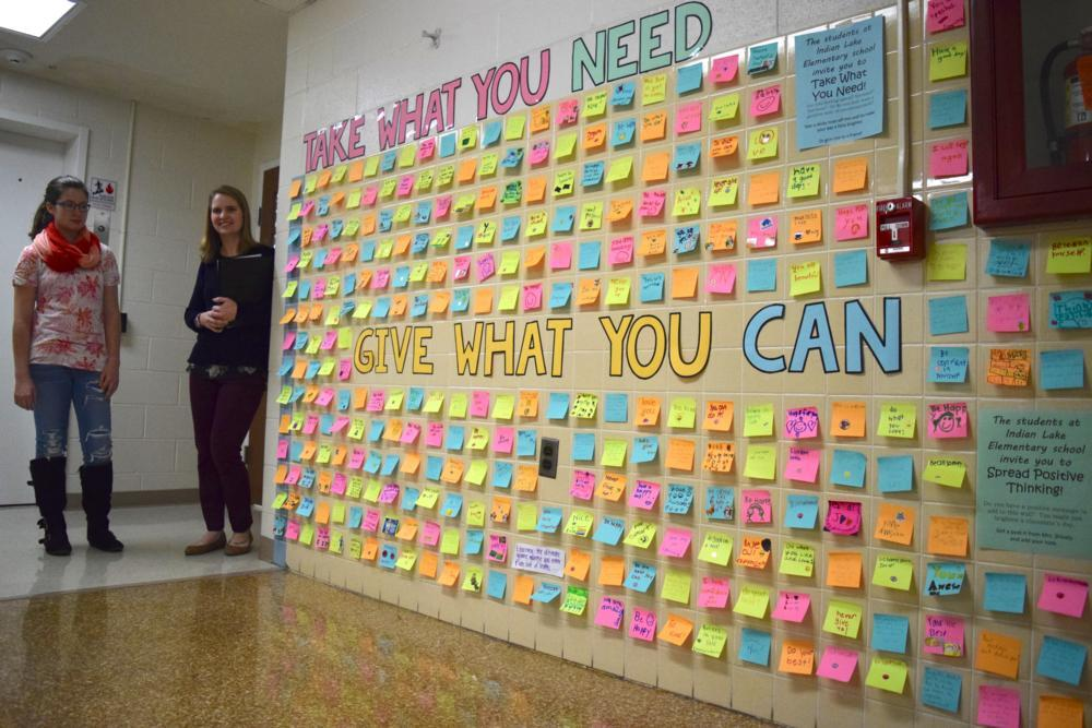 ILHS students receive words of encouragement from younger peers ...